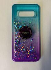 Samsung Galaxy S 8 9 10 Plus S10e Gradient Glitter Ring Quicksand Case Cover