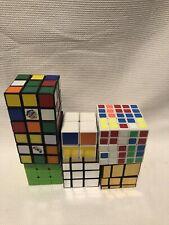 Rubix Cube Lot (5x5,3x3,2x2,3x3)