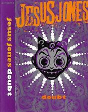 Jesus Jones Doubt CASSETTE ALBUM Industrial , Alternative Rock, Synth-pop