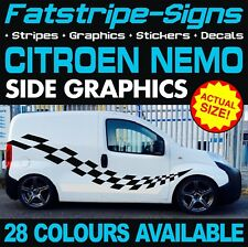 CITROEN NEMO GRAPHICS STICKERS STRIPES DECALS DAY VAN CAMPER RACE MX 1.2 1.4 D