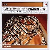 Canadian Brass Plays Classical Masterworks - Sony Classical Masters,  CD , New,