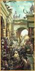 Hosanna by Tom duBois CANVAS Christian Art Jesus Christ Palm Sunday Jerusalem