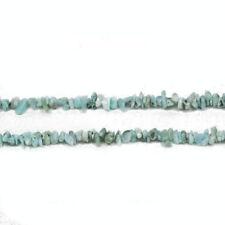 Fil De 180+ Bleu Clair Larimar 3-5mm Chips Perles CB27245