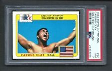1983 Topps Greatest Olympians #92 CASSIUS CLAY-MUHAMMAD ALI PSA 7 NM