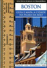 Boston Guia e Mapa-Pocket Guide/Map in Brazilian Portuguese-Guia Visual de Bolso