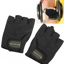Gold's Gym Weight Lifting Gloves Strength Training Microfiber Leather Size XS Sm