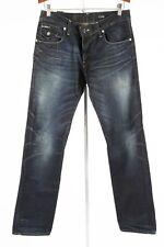 G STAR RAW – Men's Dark Slim Morris Low Straight Jeans – Size 30 x 32
