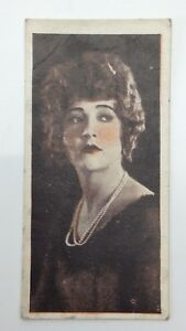 Film Favourites Number 13 Card Betty Compson  Imperial Tobacco F249