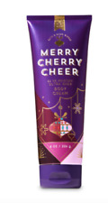 Bath and Body Works Merry Cherry Cheer Cream Authentic Full Size Lotion 8 Ounce