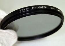 Tiffen 72mm Polarizer PL Lens Filter Parts - Missing lower ring