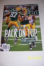 2011 Sports Illustrated GREEN BAY Packers SUPER BOWL XLV NewsStand AARON RODGERS