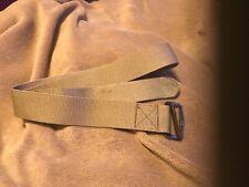 "riggers web belt used tan 45"""
