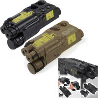 AN PEQ-16 Airsoft AEG Extendable Battery Case Dummy Box Case 20mm Rail