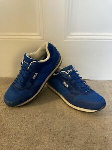 Fila Blue Trainers Adult Size 11