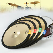 Jazz Drum Cymbals Mute Drummer Practice Silencer Percussion Accessories 4 Sizes
