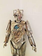 """Doctor Who 1/6 Scale 12"""" Custom CYBERMAN Battle Damaged human Eye Reveal"""