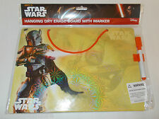 Star Wars Boba Fett Hanging Dry Erase Board with Marker