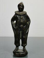 Bronzefigur,G.Danzmann,Harlekin,Art Deco,um 1920,H: 8,6 cm