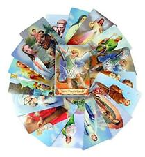 54 Holy Cards Catholic Devotional Prayer Saint Michael St Christopher Jesus, New