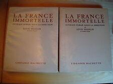 Madelin La France immortelle Armée Marine Sports Lettres Art Science Commerce...