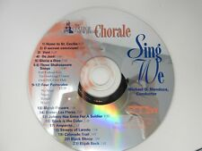 The College of New Jersey Chorale Sing We Michael D. Mendoza (CD ONLY)