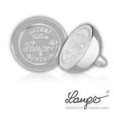 Langer® Sterling Silver .925 Concealed Magnet Round Ball Jewellery Clasps