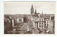 Union Street From East End Aberdeen 1935 Valentines A2240 Old Postcard Unposted