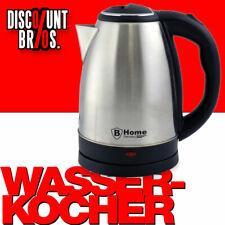 NEU █ B-HOME Edelstahl WASSERKOCHER 1,8 Liter