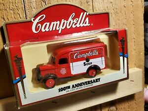 100th Anniversary Campbell's Soup Lledo Die-cast Model Souvenir Delivery Truck