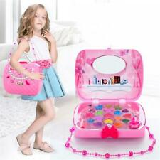 Children's Makeup Set Toys Kids Cosmetic Girls Kit Eyeshadow Nail Polish Set