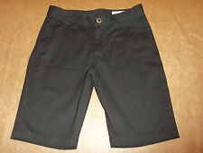 VOLCOM CHINO SHORTS ~FRICKIN MOD STRETCH~ BLACK MEN'S 28 ~EXCELLENT 1772
