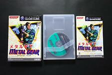 METAL GEAR SPECIAL DISC LIMITED Nintendo Gamecube Very.Good/Excellent.Cond JAPAN