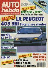 AUTO HEBDO n°583 du 22 Juillet 1987 PIKES PEAK