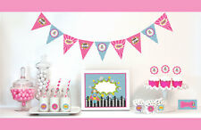 Super Hero Girl  Birthday Party Decorations Starter Kit