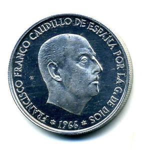 Spain - España 50 centimos 1966 *75 KM 795 Proof
