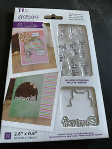 GEMINI PEEK-A-BOO CAT STAMP AND DIE COLLECTION - New low price!!!!