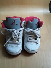 Girls Nike Air Jordan  23 pink, white size 5C, 2011
