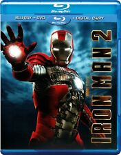 Iron Man 2 (Blu-ray/DVD, 2010, 3-Disc Set)