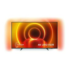 "Smart TV Philips 65PUS7805/12 65"" 4K Ultra HD LED Grigio WIFI"