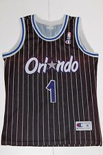 Champion VINTAGE Orlando Magic 1994 #1 Penny mauvais-Plan de basketball de la NBA jersey: OYEN