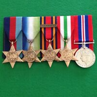 replica set of World War 2 Medals