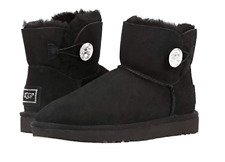 UGG Mini Bailey Button Bling Black Boot Women's US sizes 5-11/NEW