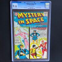 Mystery in Space #98 (1965) 💥 CGC 9.6 💥 Adam Strange, Space Ranger DC Comics