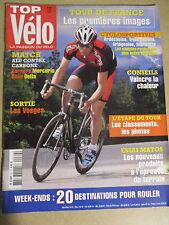 TOP VELO N°89: AOUT 2004: MATCH ALU CARBONE - SUNN DELTA - CARRERA MERCURIO