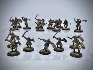 The Lord of the Rings - Morannon Orcs painted