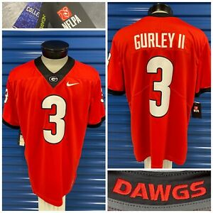Nike Todd Gurley II Georgia Bulldogs Football Stitched Jersey Men's Size Small