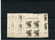 #323 Moose plate blocks any 1 position my choice  MNH Canada mint