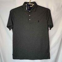 Polo Ralph Lauren custom slim fit S pattern shirt Medium Cotton New NWT Gray Men