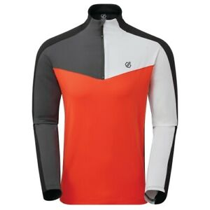 Dare 2B manches longues Depose hommes en polyester gris/orange taille XS