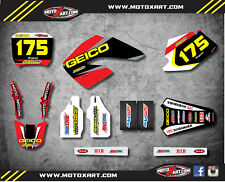Full Graphic kit SONIC Style Stickers fits Honda CR 125 250 - 2000 2001 Graphics